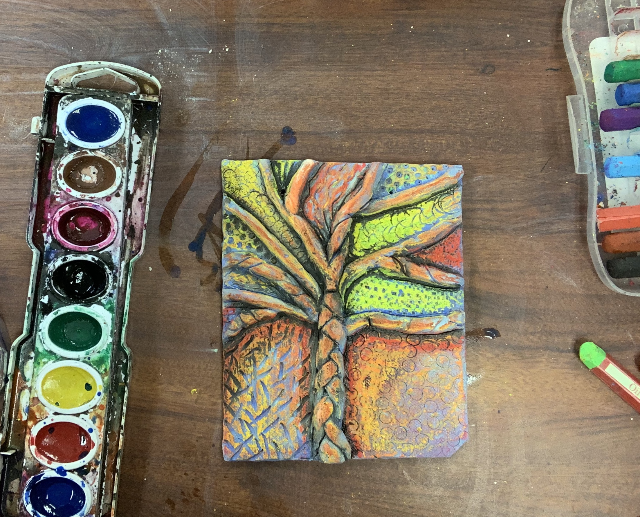 Textured Tiles Clay Lesson Plan That Art Teacher